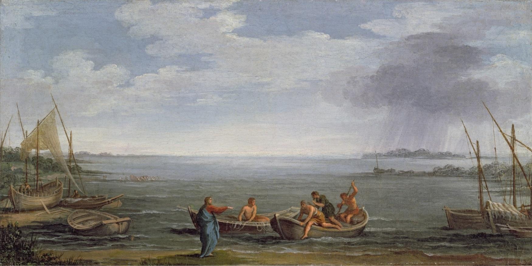 Powołanie św. Piotra - obraz Pietro di Cortony