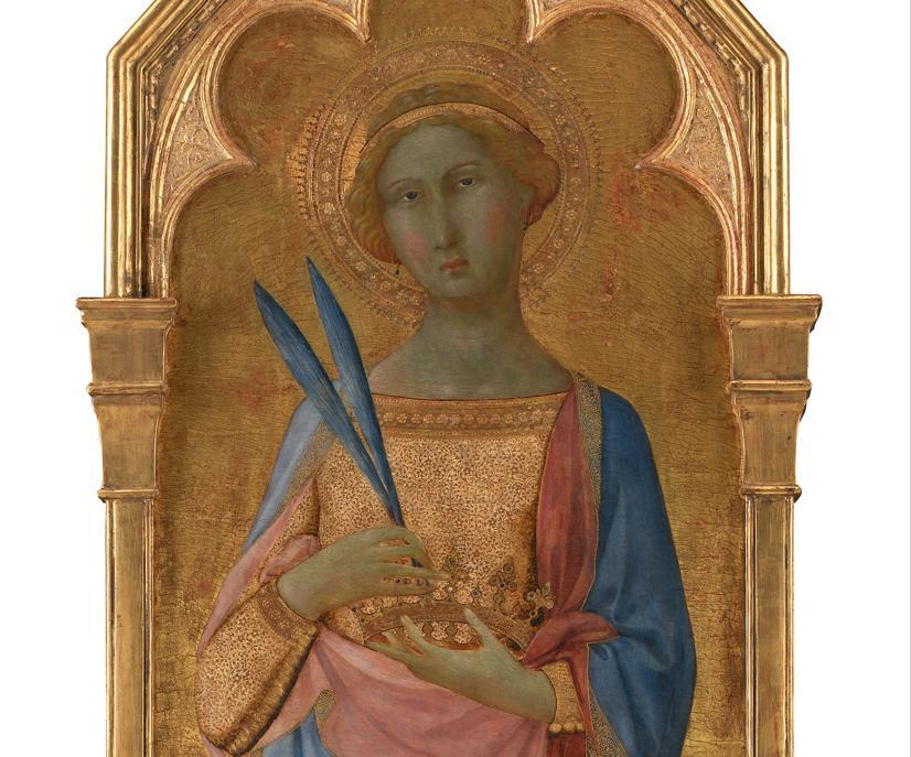 WWW.COMMONS.WIKIMEDIA.ORG / Master of Palazzo Venezia Madonna - St. Corona - Google Art Project