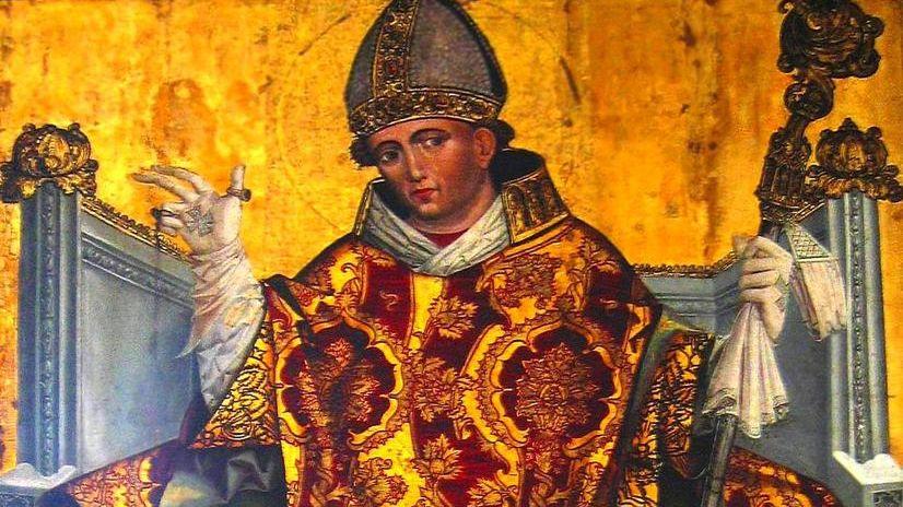 Wikimedia Commons / Saint Stanisław of Kraków on the painting from XVI century image taken by user:Mathiasrex Maciej Szczepańczyk