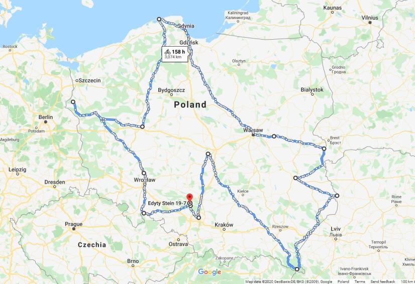 google.pl/maps / zdjęcie poglądowe