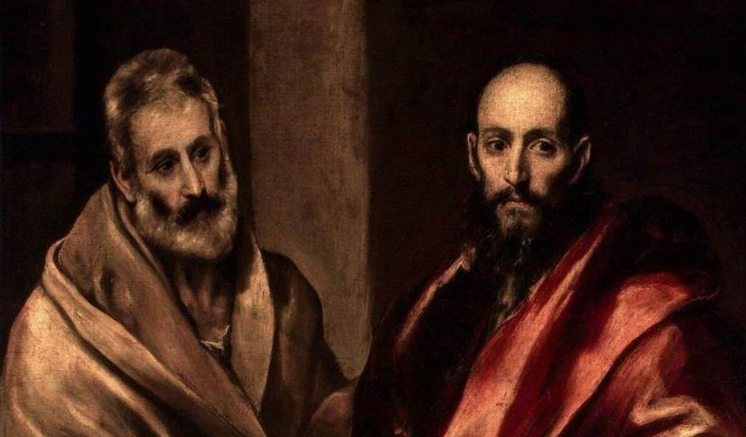 Wikimedia Commons / Apostles Peter and Paul / El Greco