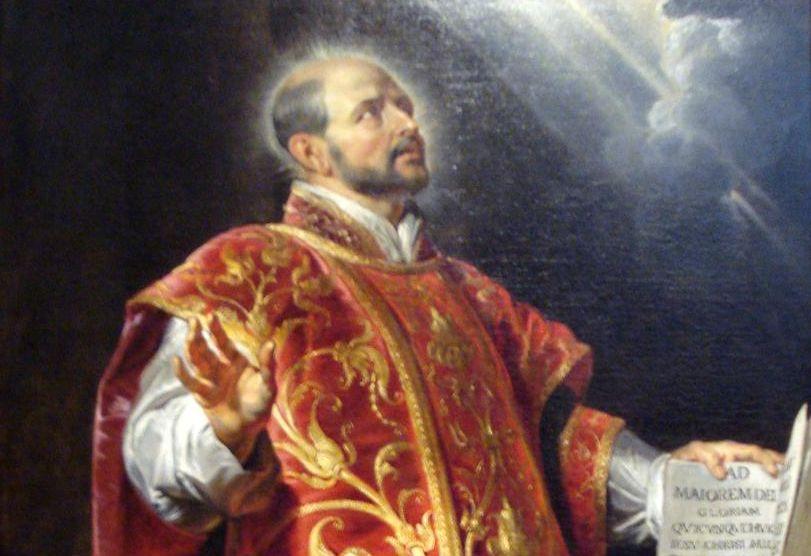 Wikimedia Commons / St. Ignatius of Loyola by Peter Paul Rubens