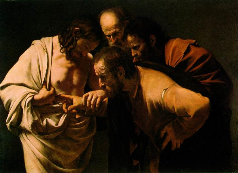 Wikimedia Commons / The Incredulity of Saint Thomas by Caravaggio