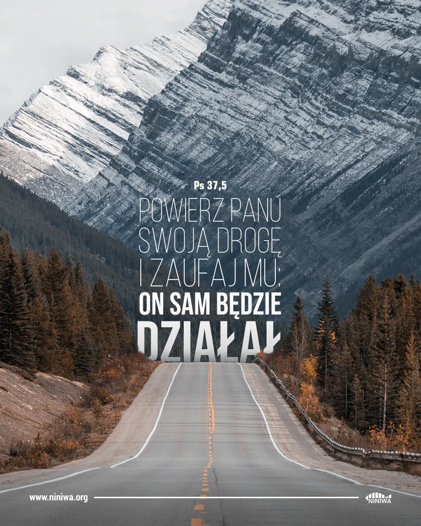 Powierz Panu swoją drogę i zaufaj Mu: on sam będzie działał - Ps 37, 5