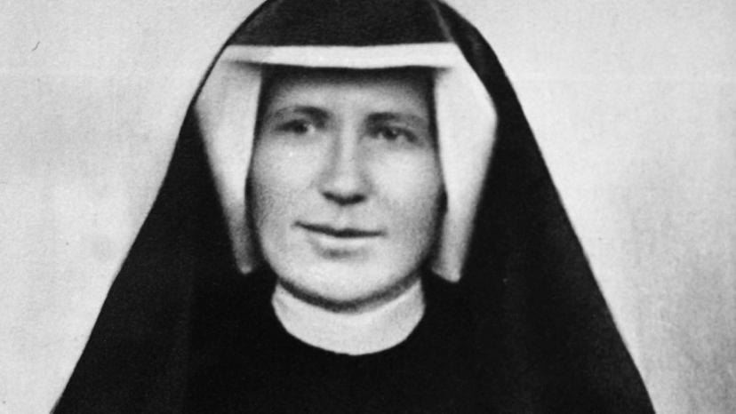 Zdjęcie św. Siostry Faustyny Kowlskiej