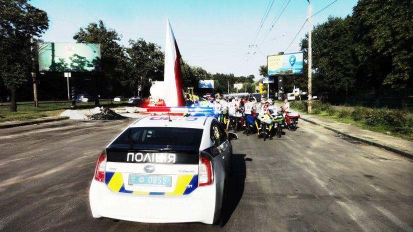 Rowerzyści zatrzymani przez policję